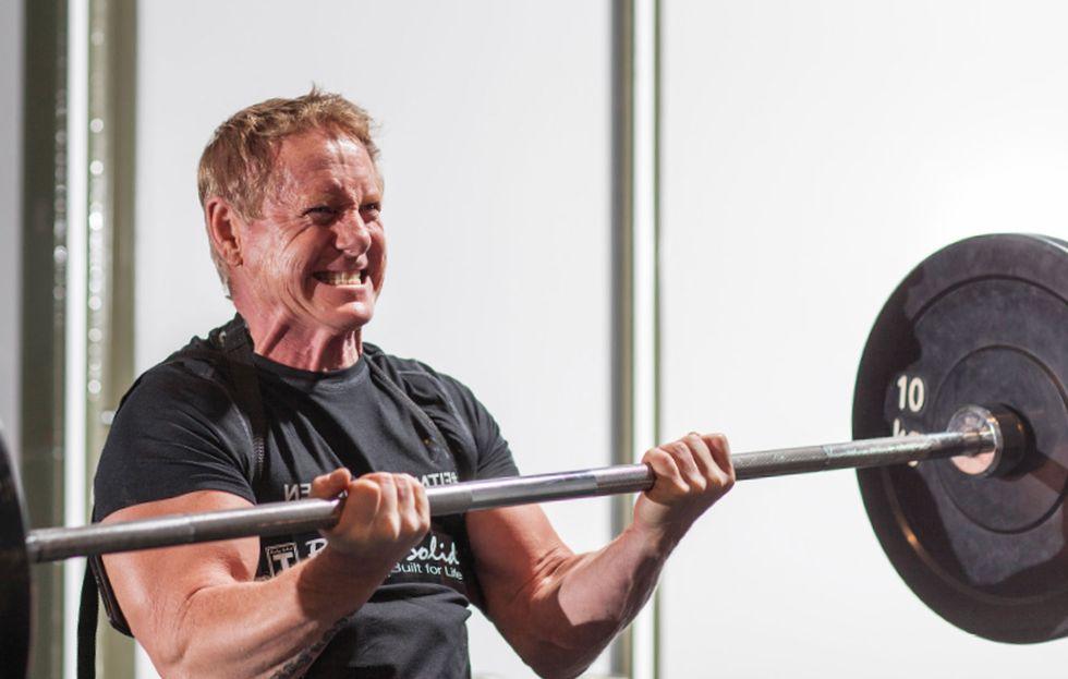 Ove Rytter, old school med biceps bomber