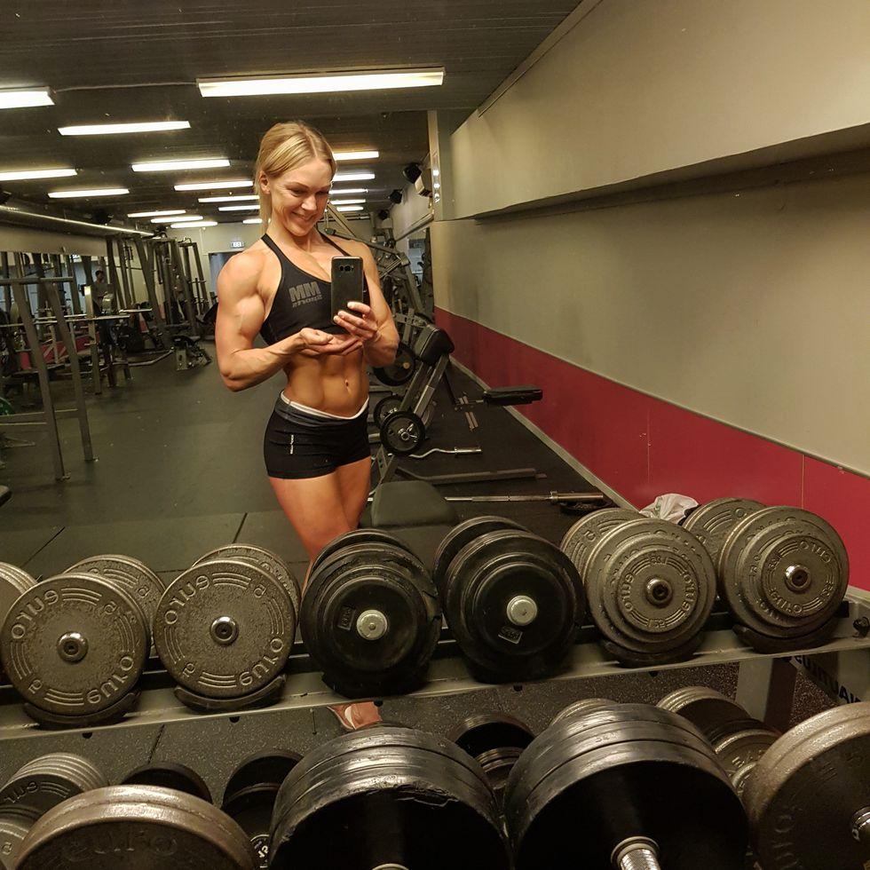 Anna Norberg tightar till sig