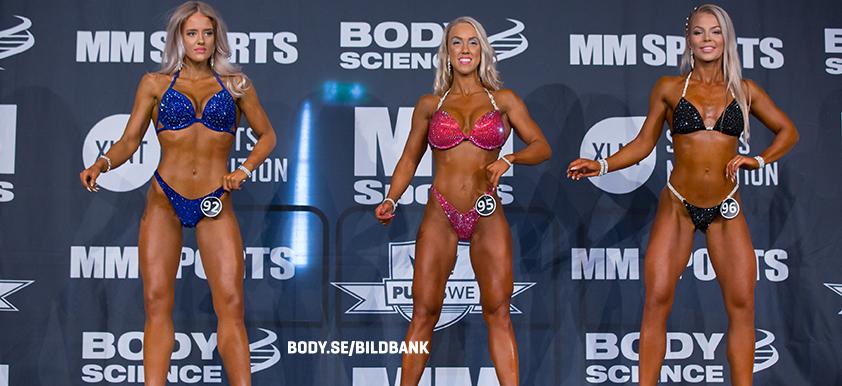 Bikini Fitness juniorer -166 cm