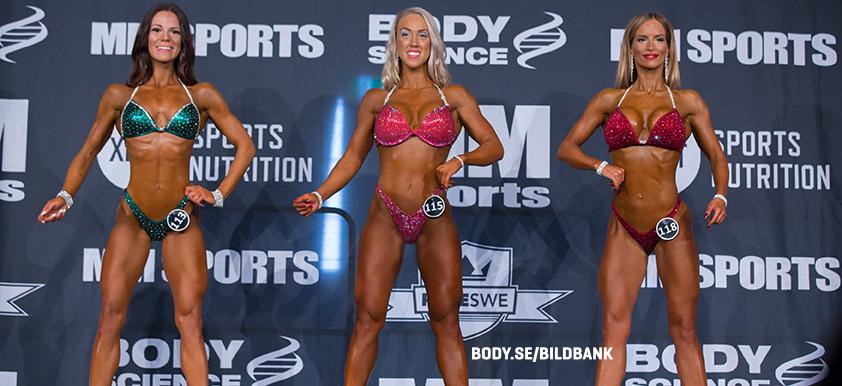 Bikini Fitness -163 cm