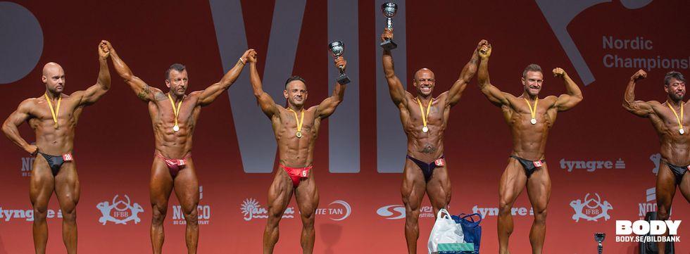 Bodybuilding -80kg Tyngre Classic 7