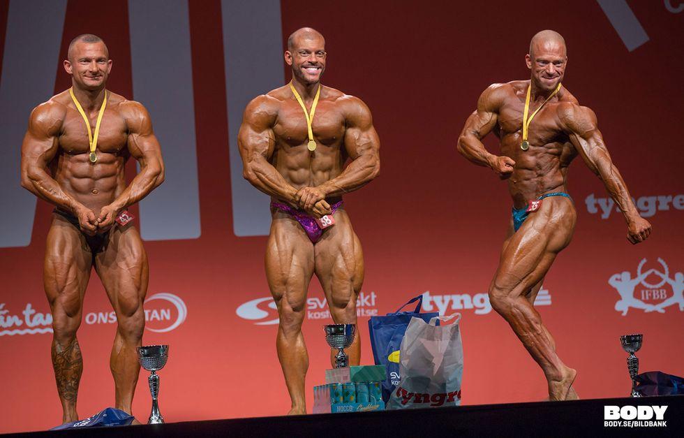 Bodybuilding +80kg Tyngre Classic 7