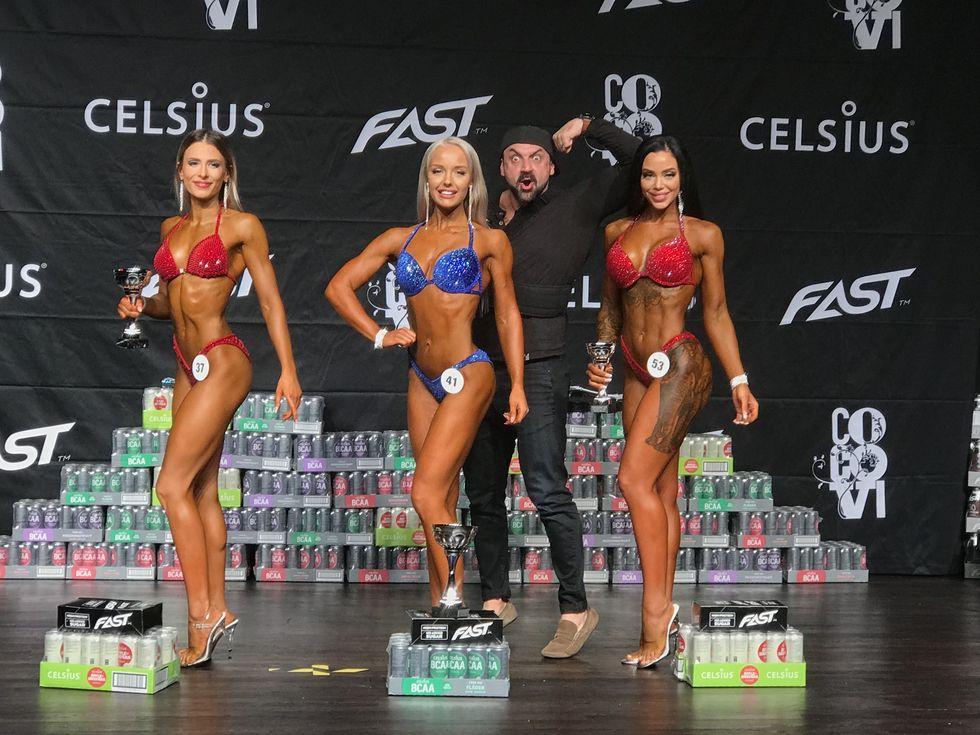 Bikini fitness Homan Elfström Decembercupen 2018