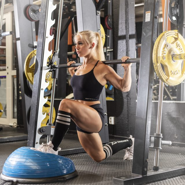 bra övningar på gymmet